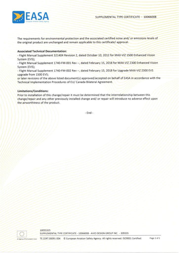 Avio design group image of EASA STC 10066008_Page_2
